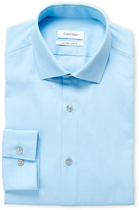 Calvin Klein Blue Ice Extreme Slim Fit Dress Shirt