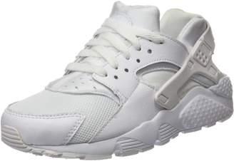 Nike Youths Huarache Run Black Synthetic Trainers 36 EU