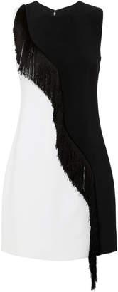 Cushnie et Ochs Nisa Two-Tone Mini Dress