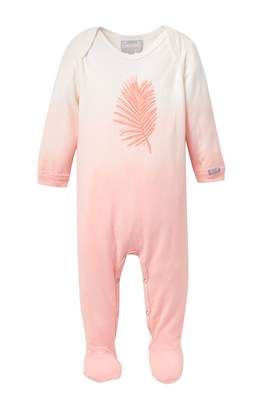 Coccoli Ombre Palm Print Footie (Baby)