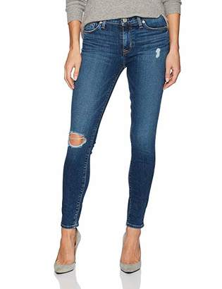 Hudson Jeans Women's Nico Midrise Ankle Super Skinny Soft Vintage Jeans