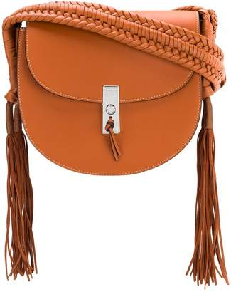 Altuzarra tassel flapped shoulder bag