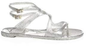 Jimmy Choo Lance Jelly Gladiator Sandals