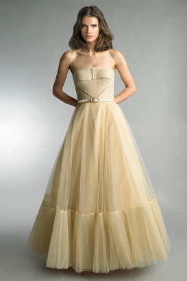 Basix II Strapless Evening Gown