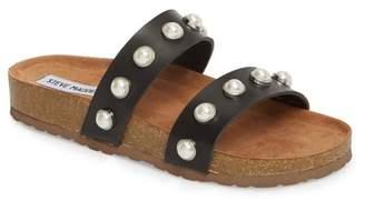 Steve Madden Asset Embellished Slide Sandal