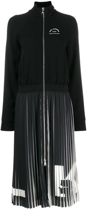Karl Lagerfeld Paris Rue St Guillaume pleated dress