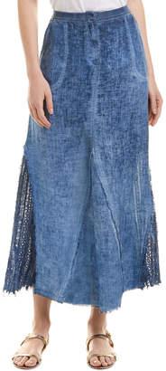 XCVI Linen Maxi Skirt