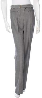 Golden Goose Herringbone Patterned Straight-Leg Pants