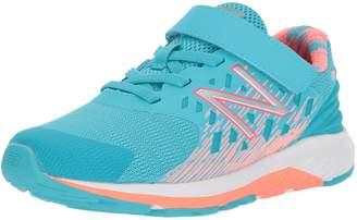 New Balance Girls' Urge v2 Hook and Loop Running Shoe