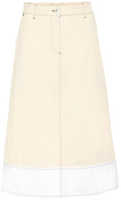 Marni Denim midi skirt