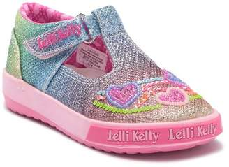 Lelli Kelly Kids Rainbow Hearts T-Bar ShoeRainbow Hearts Shoe (Baby & Toddler)