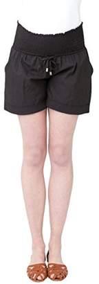 Ripe Maternity Women's Maternity Philly Cotton Shorts