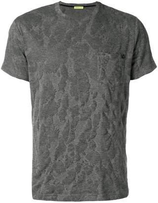 Versace textured short sleeve T-shirt