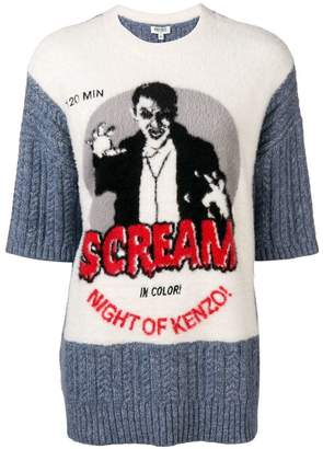 Kenzo Scream knit jumper
