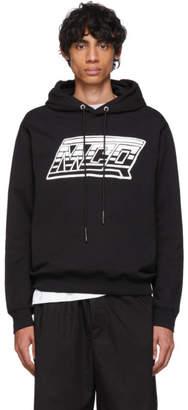 McQ SSENSE Exclusive Black Logo Hoodie