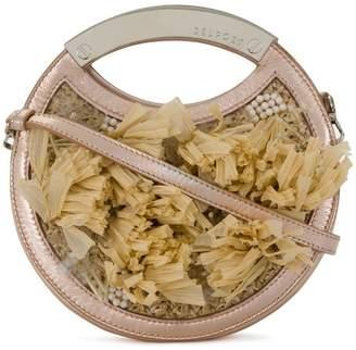 DELPOZO fringed circular bag
