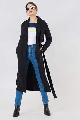 Dr. Denim Tanisha Trench Coat Black