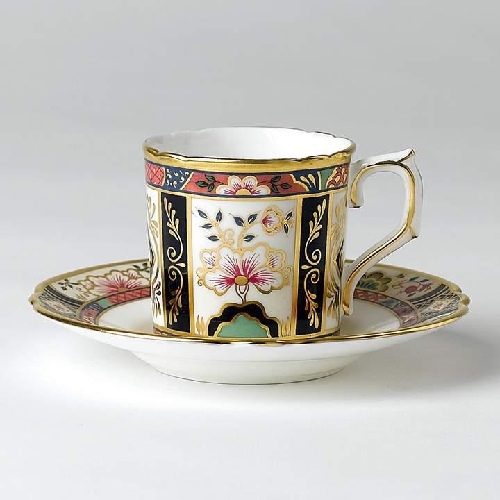 "Royal Crown Derby ""Chelsea Garden"" Coffee Saucer"