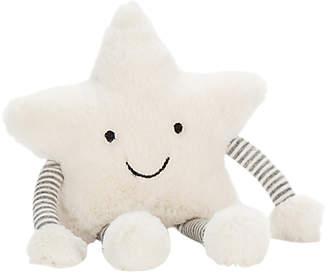 Jellycat Little Star Rattle Soft Toy, Medium