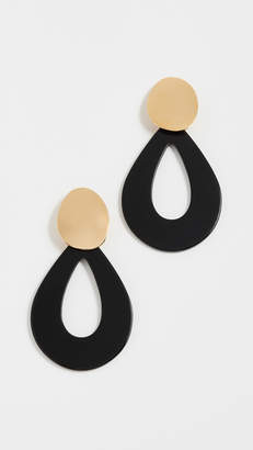Lizzie Fortunato Midnight Teardrop Earrings