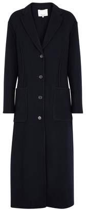 3.1 Phillip Lim Midnight Blue Wool-blend Coat
