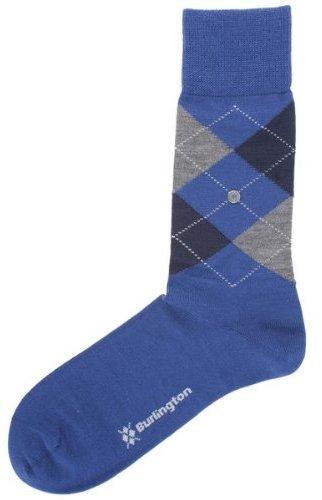 Burlington / Grey / Navy Edinburgh Socks