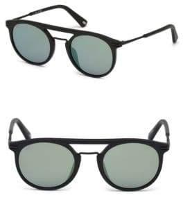 Web 49MM Acetate 2-Base Sunglasses