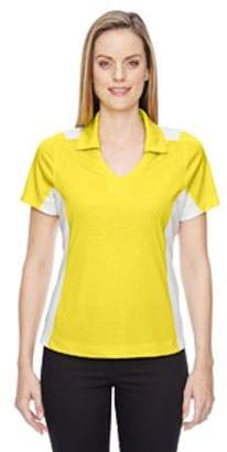 Ash City - North End Ladies' Reflex UTK cool?logik Performance Embossed Print Polo