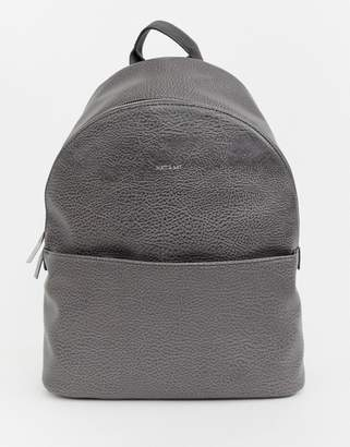 Matt & Nat structured backpack in carbon