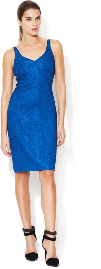 Zac Posen Silk Fitted Dress