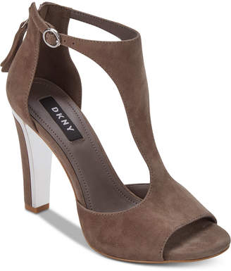 DKNY Colby T-Strap Sandals