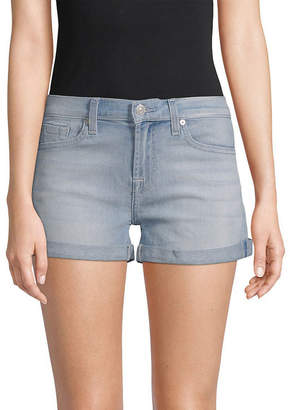 7 For All Mankind Seven Joe's Jeans Light Authentic Venice 2 Relaxed Roll-Up Short