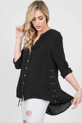 Annabelle Lace Up Side Top