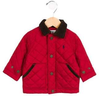 Ralph Lauren Boys' Embroidered Quilted Jacket
