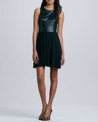 Ella Moss Tabitha Textured Tank Dress, Black