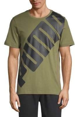 Puma Big Logo Short-Sleeve Tee