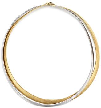 Marco Bicego 18K White & Yellow Gold Masai Two Strand Necklace, 15""