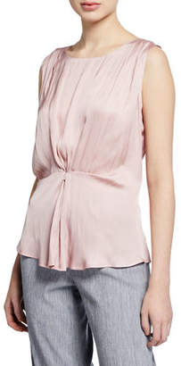 Nic+Zoe Plus Size Destination Sleeveless Cinched Top
