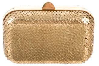 Tom Ford Python Box Clutch