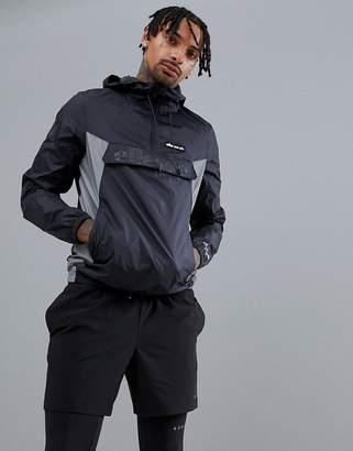 Ellesse Sport Overhead Jacket In Black
