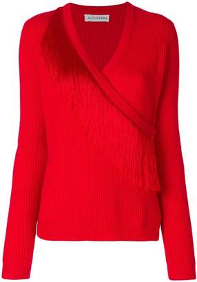 Altuzarra V-neck tassel sweater