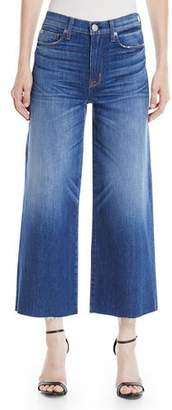 Hudson Holly High-Rise Wide-Leg Cropped Jeans