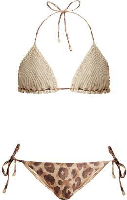 Zimmermann Melody crochet bikini set