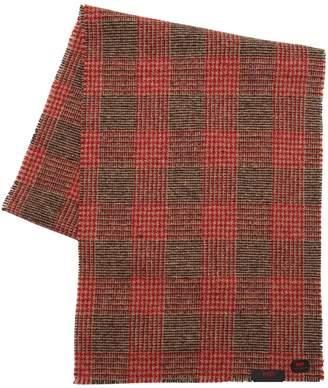Virgin Wool Prince Of Wales Scarf