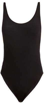 Haight Scoop Back Swimsuit - Womens - Black