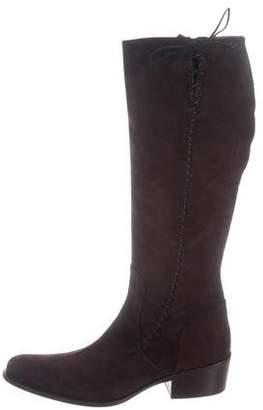 Duccio Del Duca Suede Lace-Up Boots