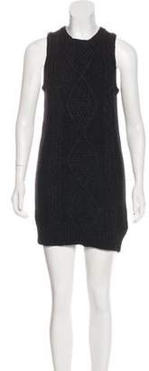 MM6 MAISON MARGIELA Cable-Knit Sweater Dress