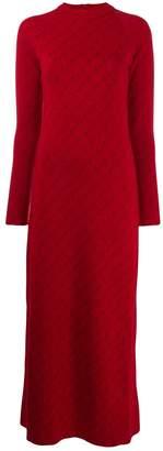 Stella McCartney monogram long dress