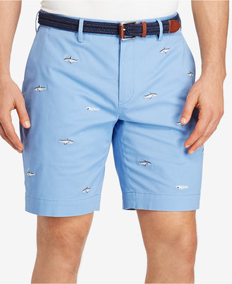 Polo Ralph Lauren Men's Big & Tall Stretch Embroidered Shorts $89.50 thestylecure.com