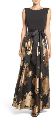 Ellen Tracy Woven Fit & Flare Gown $188 thestylecure.com